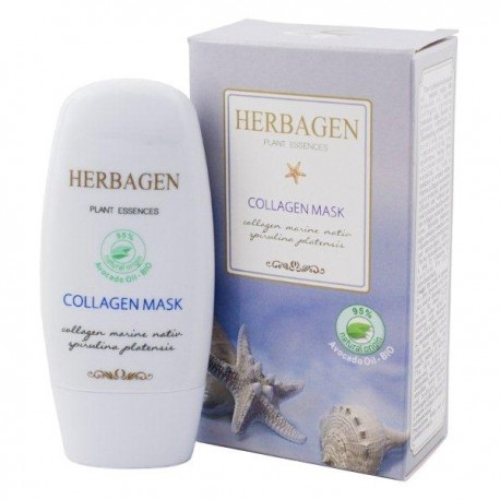 Masca Colagen-Spirulina Herbagen - 50g Genmar