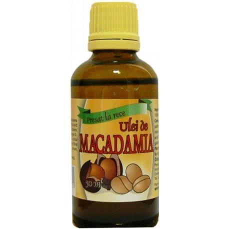 Ulei Macadamia 50ml Herba Sana