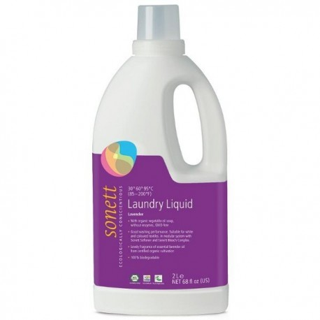 Detergent Lichid Rufe Colorate Lavanda - Eco 2l Sonett