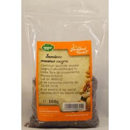 Seminte Mustar Negru 100g Pv