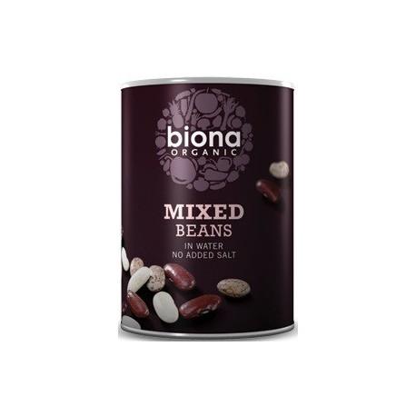 Fasole Mix Suc Propriu Bio 400g Biona