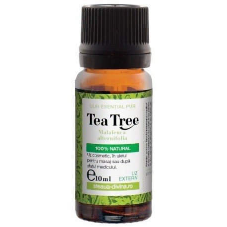 Ulei Tea Tree 10ml Steaua Divina