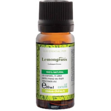 Ulei Lemongrass 10ml Steaua Divina