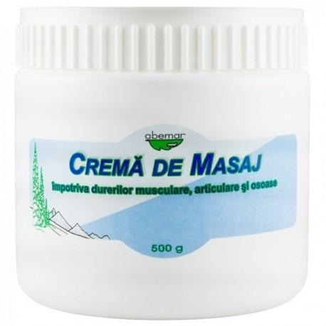 Crema Masaj Dureri Musculare - 500g Abemar