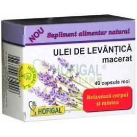 Ulei Levantica Macerat 40cps Hofigal
