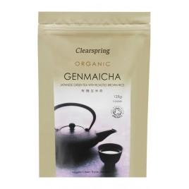 Ceai Verde Genmaicha Bio 125g Clearspring
