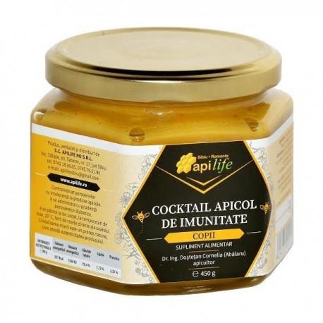 Cocktail Apicol Copii 450g Apilife