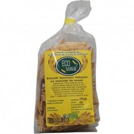 Biscuiti Integrali cu Seminte de Susan, Eco 200g Ecomania