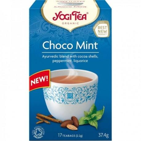 Ceai Cacao-Menta - Eco 17dz Yogi Tea