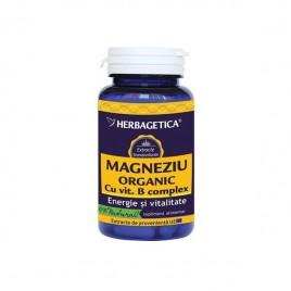 Magneziu Organic 60cps Herbagetica