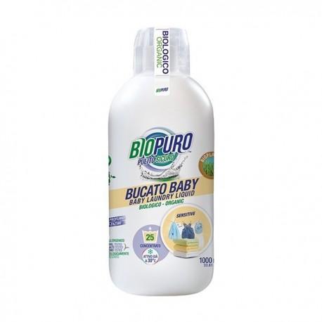 Detergent Lichid Hipoalergenic Pentru Rufele Copiilor - Eco 1l Biopuro
