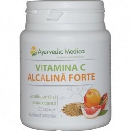 Vitamina C Alcalina Forte 100 Cps Ayurvedic Medica