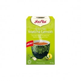 Ceai Verde Matcha-Lemon - Eco 17dz Yogi Tea