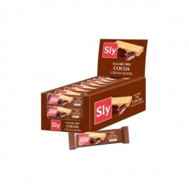 Napolitane Ciocolata Fara Zahar Sly - 20g Sly Nutritia