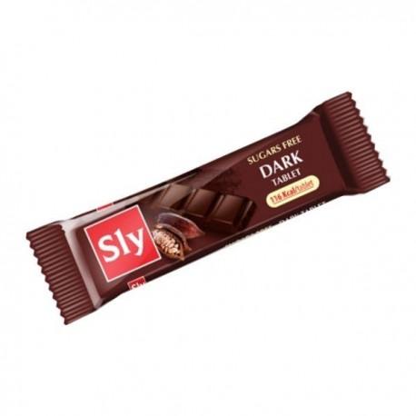Tableta Ciocolata Amaruie Sly - 25g Sly Nutritia
