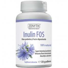 Inulin Fos Fibre Pulbere - 120g Zenyth Pharmceuticals