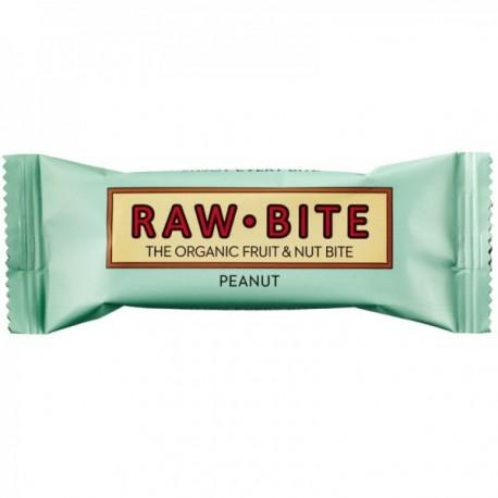 Baton Raw Peanut - Eco 50g Raw Bite