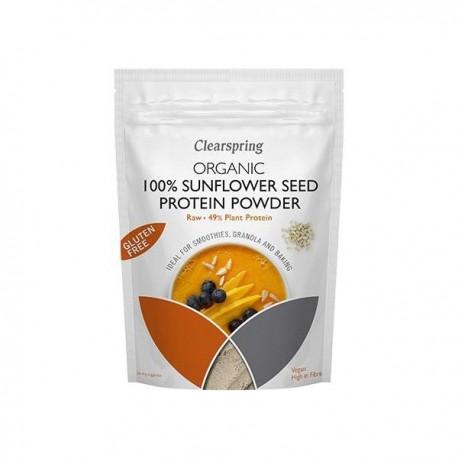 Pudra Proteica Din Seminte De Floarea-Soarelui - Eco 350g Clearspring