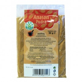 Pudra Condiment Anason Herbal Sana - 50g Herbavit