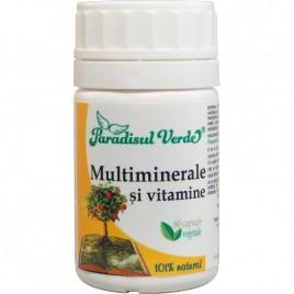 Multiminerale Si Vitamine - 60cps Paradisul Verde