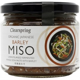Miso Orz Nepasteurizat - Eco 300g Clearspring
