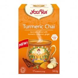 Ceai Turmeric Chai - Eco 17dz Yogi Tea