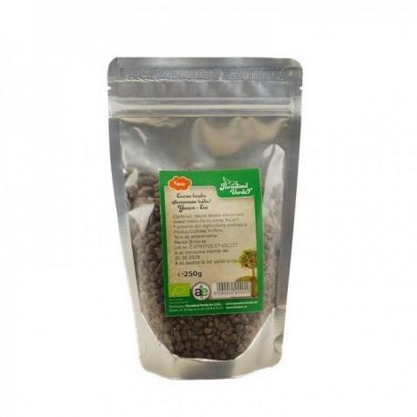 Cacao Boabe Sfaramate Cocoa Nibs, Yacon, Eco 250g ET