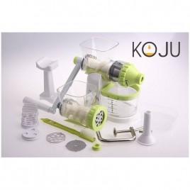 Storcator si Tocator Manual, 2 in 1 BPA free, Koju Verde + cadou copii