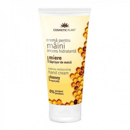 Crema de maini cu miere 200ml Cosmetic Plant