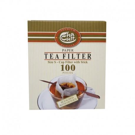 Saculet hartie ceai cu betisor 94505 Cha Cult