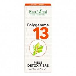 Polygemma Nr.13 Piele-Detox 50ml Plantextrakt