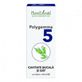 Polygemma Nr.5 Cavitate Bucala-Gat 50ml Plantextrakt