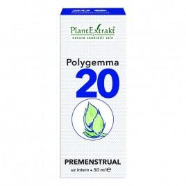 Polygemma Nr.20 Premenstrual 50ml Plantextrakt