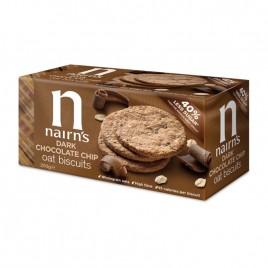 Biscuiti Ovaz Integral Ciocolata Amaruie, 200g Nairn`s