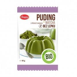 Budinca bio cu ceai verde, fara gluten 40g Amylon