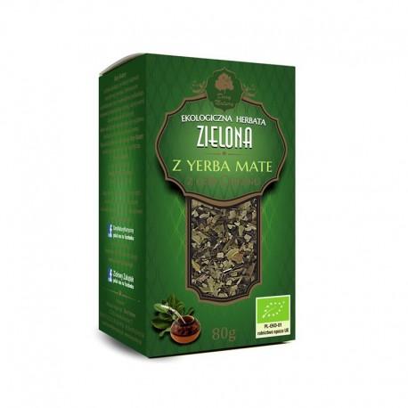 Ceai verde si Yerba Mate Eco 80g Dary Natury