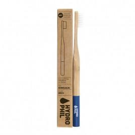 Periuta de Dinti din Bambus - Soft Albastru Inchis - Hydrophil