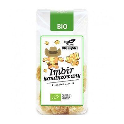 Ghimbir Confiat Bio 100g Bio Planet