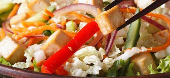 6 Salate cu branza tofu absolut delicioase!