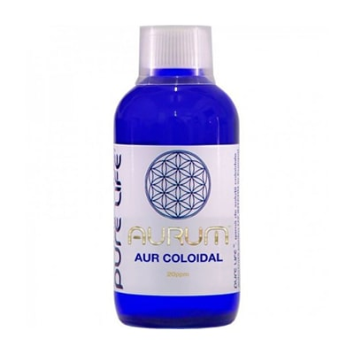 Aur Coloidal Ionic Agnes Itara Pure Life, Aurum 20ppm 240ml