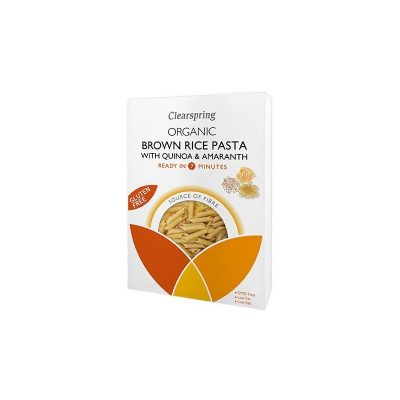 Paste Orez Brun Quinoa - Eco 250g Clearspring