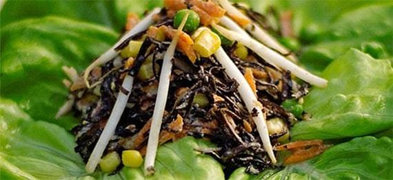 Salata de Alge Arame cu Porumb