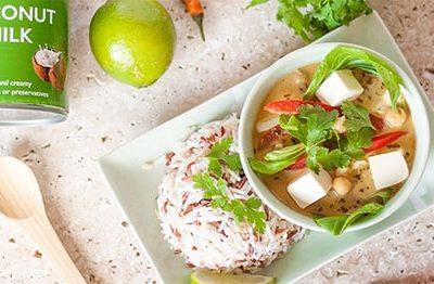 Curry verde tailandez