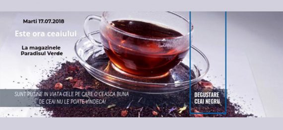 Degustare Ceai Negru Ceylon Earl Grey
