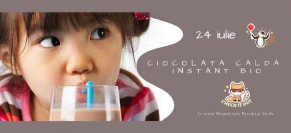 Degustare Ciocolata calda instant Bio