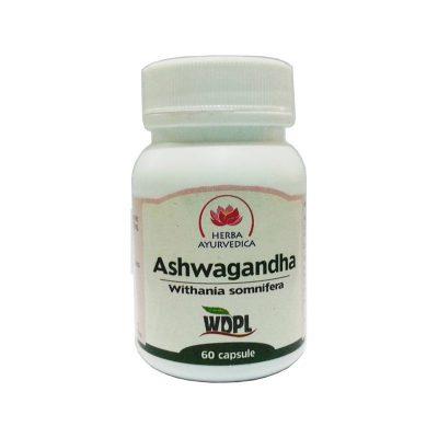 Capsule de Ashwagandha - tonic general 500mg 60cps Herba Ayurvedica