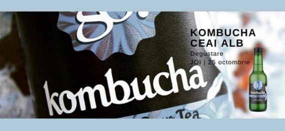Degustare Ceai Alb Kombucha