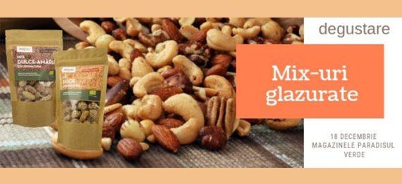 Degustare Mix de alune glazurate