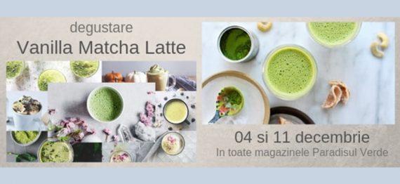 Degustare - Vanilla Matcha Latte