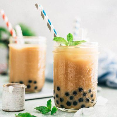 Ceai cu perle de tapioca